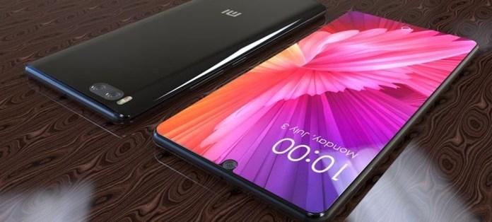 xiaomi mi 7 with in display fingerprint scanner