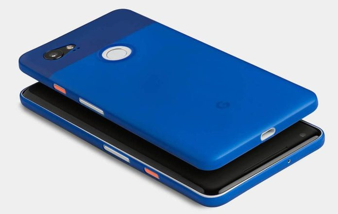 Pixle 2 XL really blue cover totallee