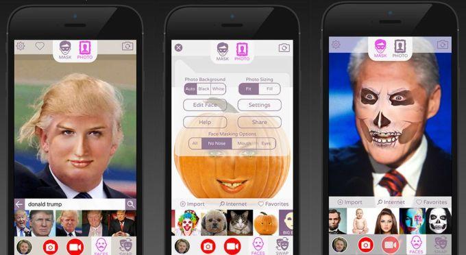 face swap live application