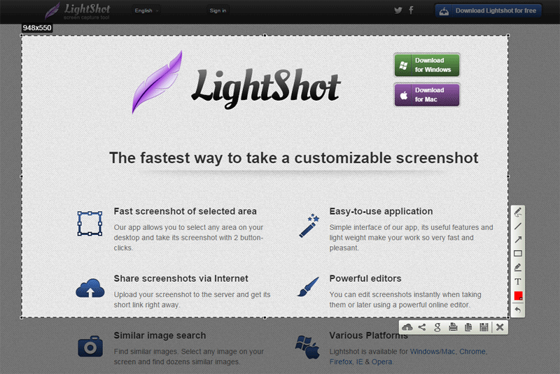 lightshot chrome extension