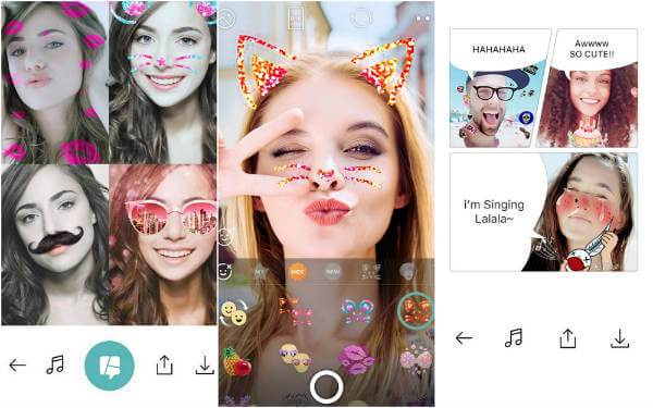 B612 camera application for android