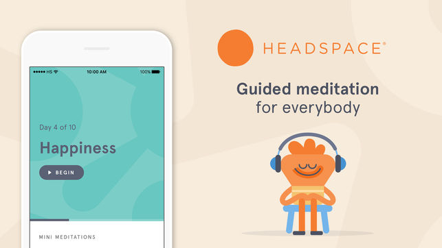 top meditation apps for android and iOS headspace
