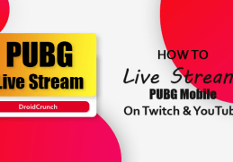 Live Stream PUBG Mobile on YouTube & Twitch
