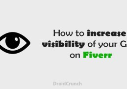 how to increase visibility of your gigs on fiverr