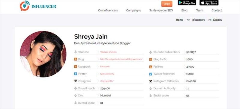 influencer marketing company for instagram