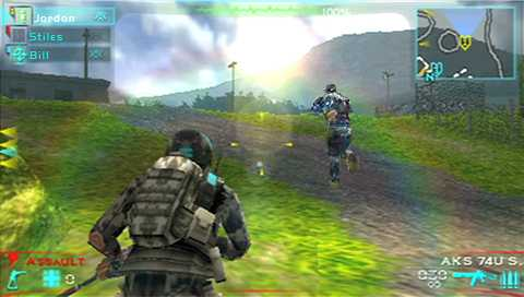 Tom Clancy's Ghost Recon Predator For PSP IMAGES