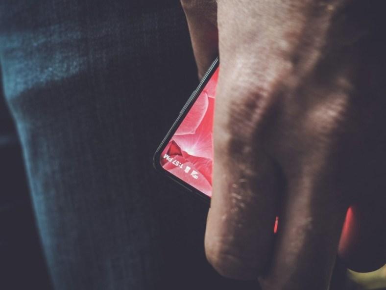 Andy Rubin's tweet showing off Essential smartphone