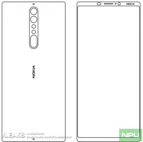 Nokia 9 leaked sketches