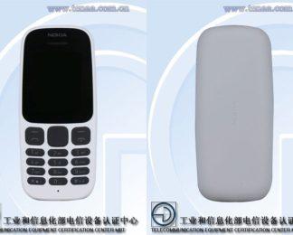 Nokia 105 2017 (TENAA)