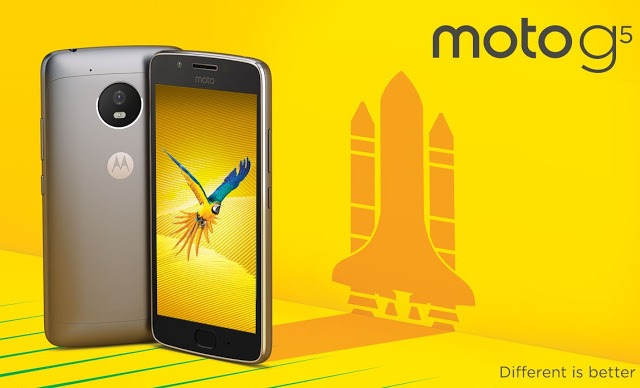 Here are the Moto G5 Specs
