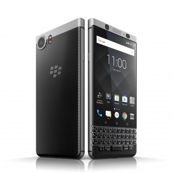 This is the Blackberry KEYone