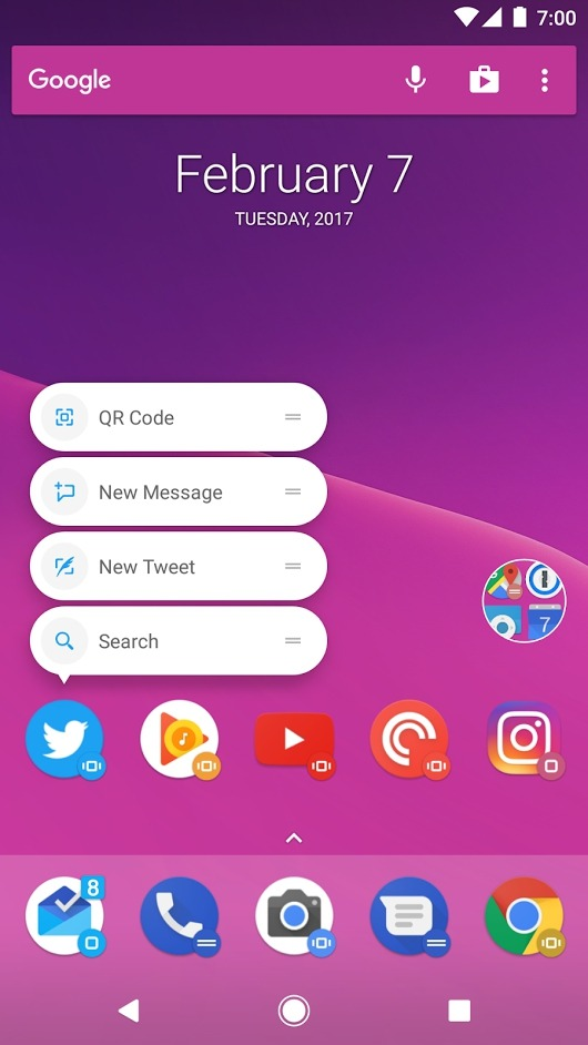 Action Launcher Beta v3.13