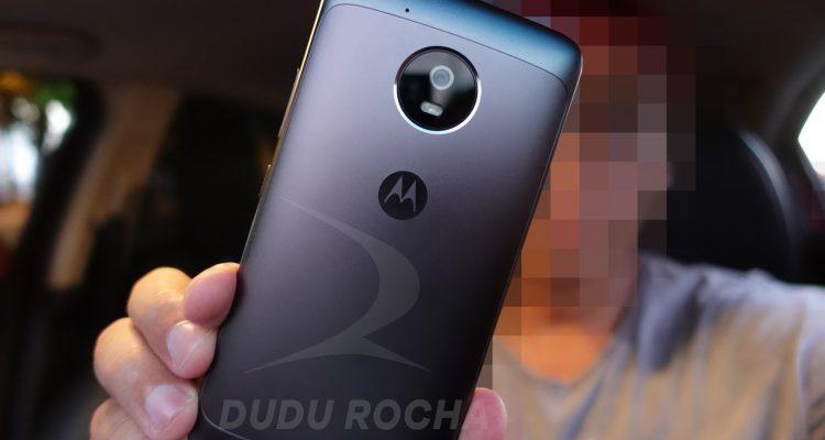 Back Side of Moto G5