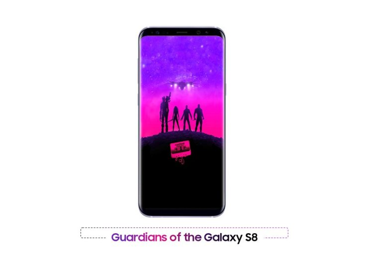 This is Orchid Grey Galaxy S8+ 1
