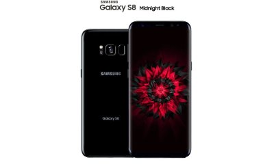 This is the Midnight Black Galaxy S8