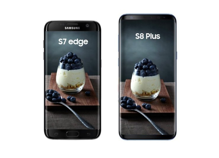 galaxy s8 plus vs s7 edge