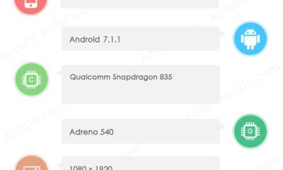 OnePlus 5 (A5000) Spotted on AnTuTu Benchmark, Specs Revealed 2