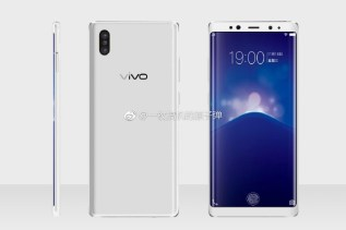 Vivo XPlay 7 Render in White