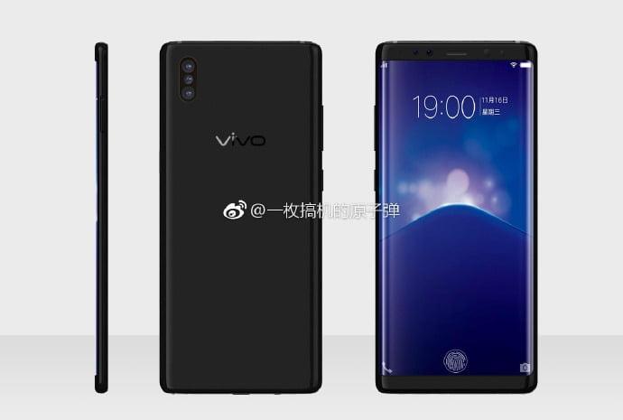 Vivo XPlay 7 Render in Black