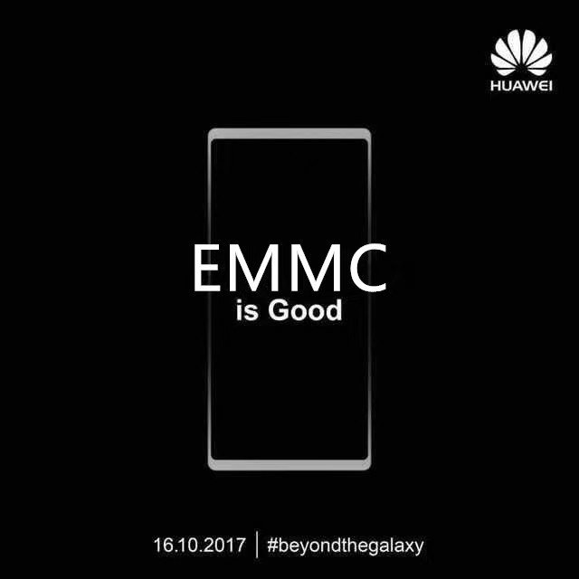 Huawei Mate 10 Official Teasers Reveal the final design & take a subtle dig at Samsung 4