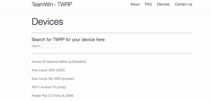 How To Install TWRP Recovery via FastBoot on Android 2
