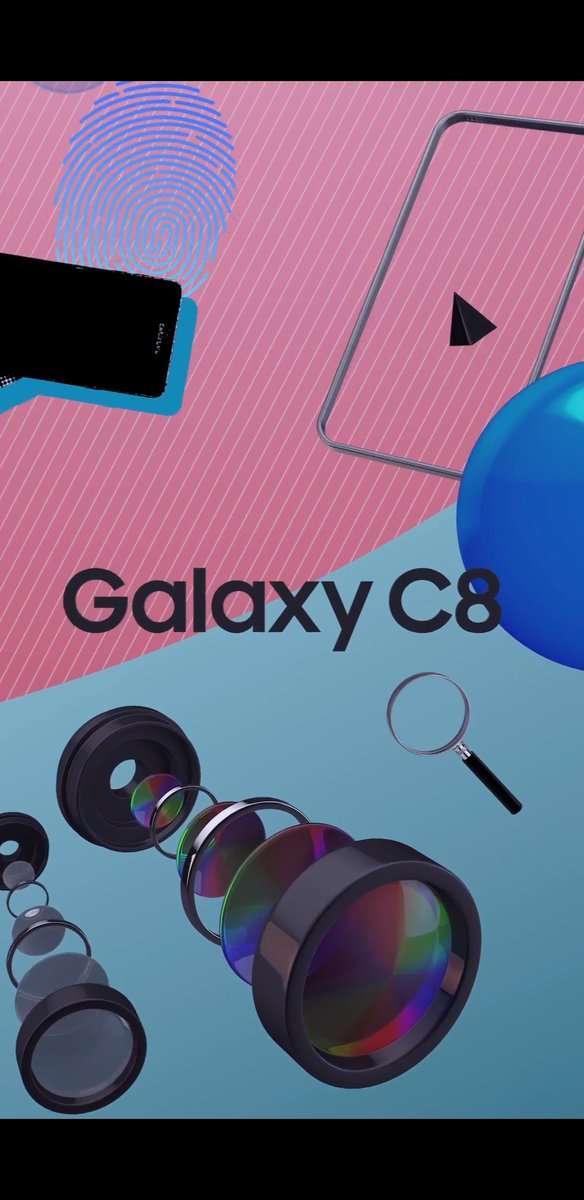 Leaked Promo Material confirms Galaxy C8's Design & Dual Cameras 1