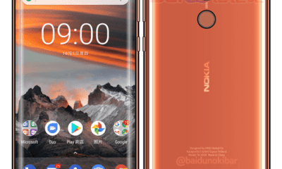 This is how Nokia 9 looks like with 3D Glass and Rear-Facing Fingerprint scanner 7