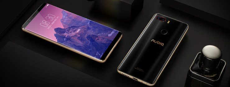 Nubia Z17S with 90.36% screen-to-body ratio & Snapdragon 835 launched 4