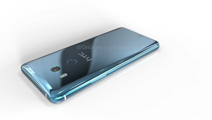 HTC U11 Plus 3D renders & 360-degree video reveal design from every angle 1