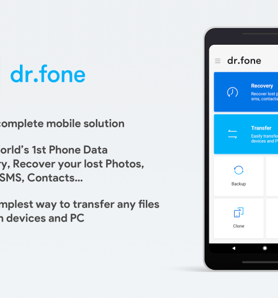 Wondershare Dr.Fone Review - Backup & Transfer Data On The Go 1