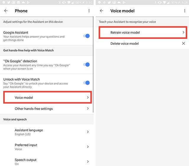 How to access Google Assistant by saying 'Hey Google' 2