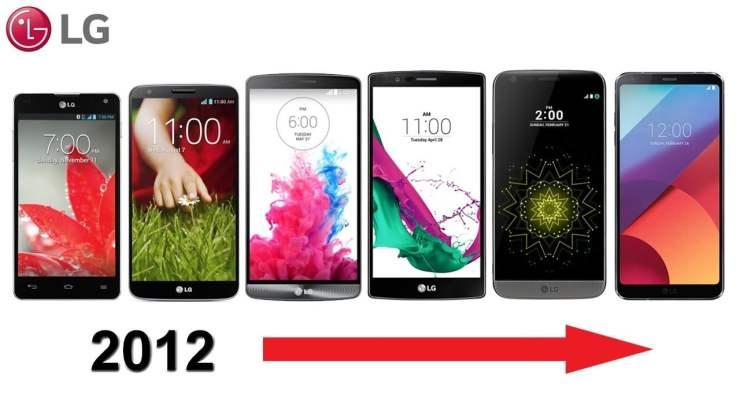 LG's G-series