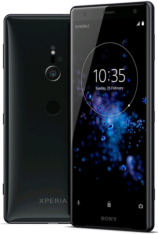 This is the Sony Xperia XZ2