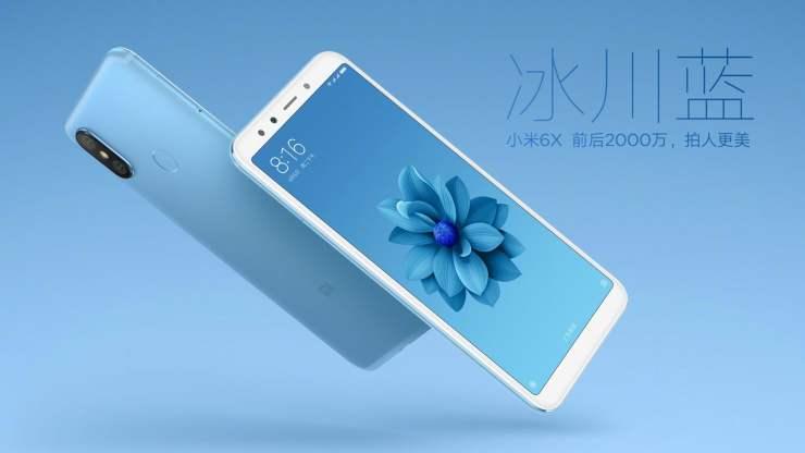 Xiaomi Mi 6X - Ice Blue