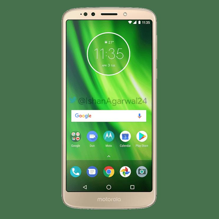 Moto G6 Play Gold 1