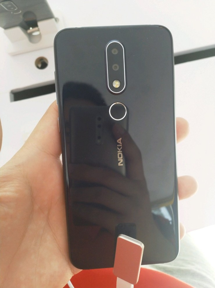 Nokia X6 From the Rear