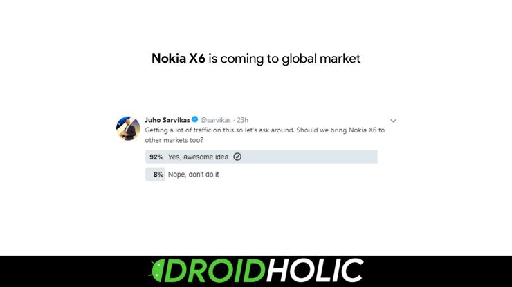 Nokia X6 Global Launch Soon?