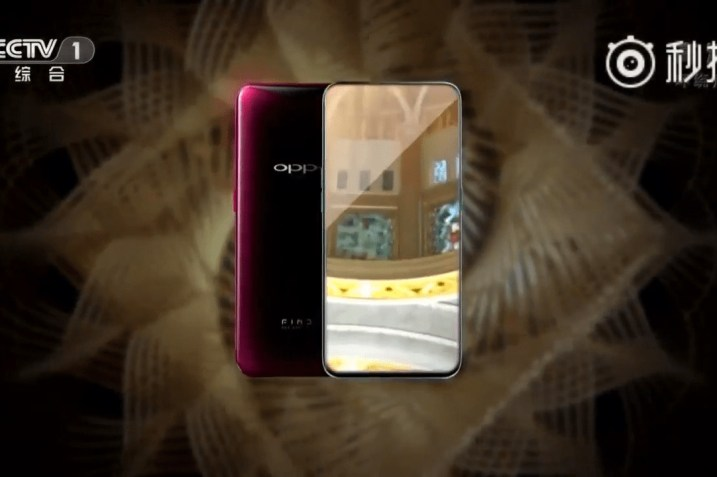 Oppo Find X From Front