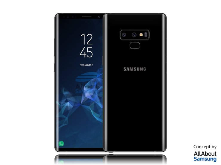 This is how the Samsung Galaxy Note 9 is going to look like 10