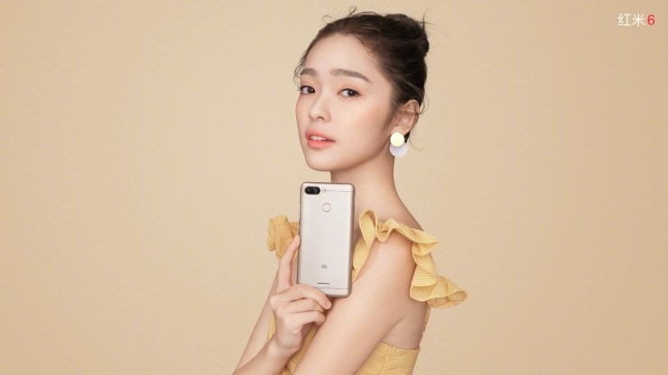 Xiaomi Redmi 6 in Sand Gold