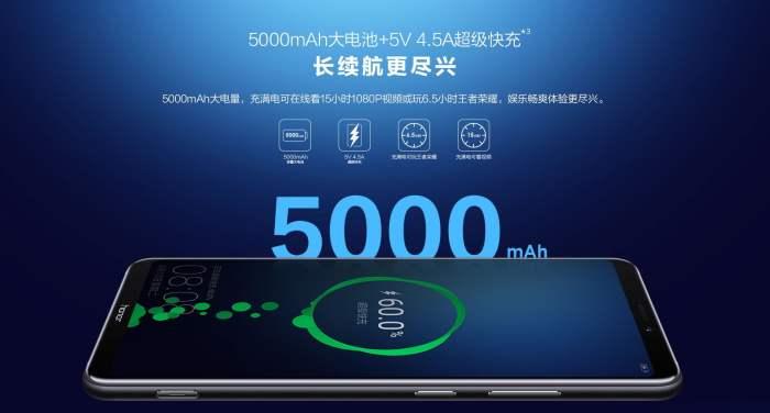 Honor Note 10 has a massive 5,000mAh battery & Kirin 970 processor 6