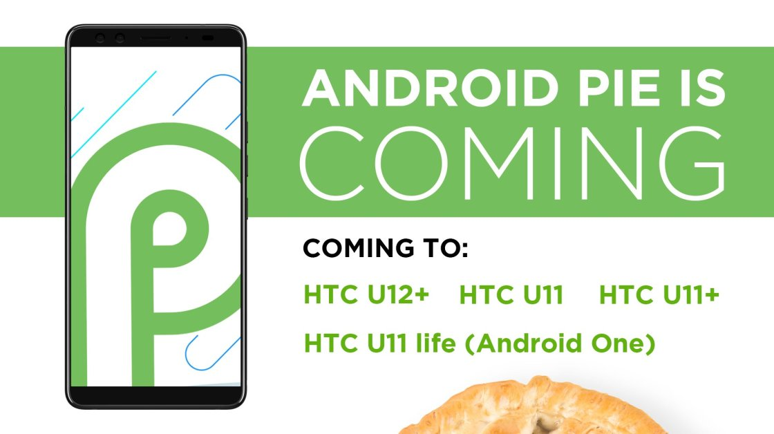 List of HTC Phones getting Android Pie Update