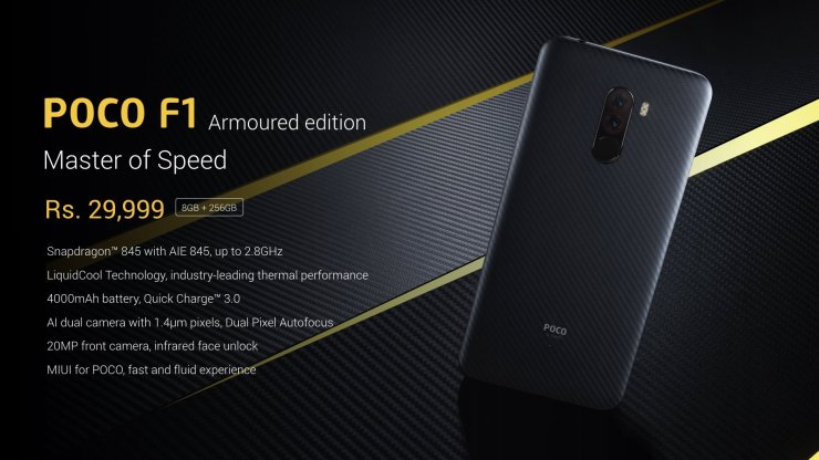 Xiaomi Poco F1 is the cheapest phone you can get with Snapdragon 845 19