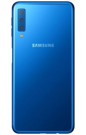 Galaxy A7 2018 render Blue 2