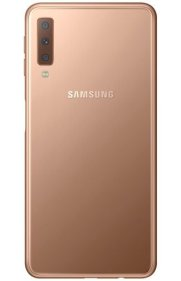 Galaxy A7 2018 render Gold 1