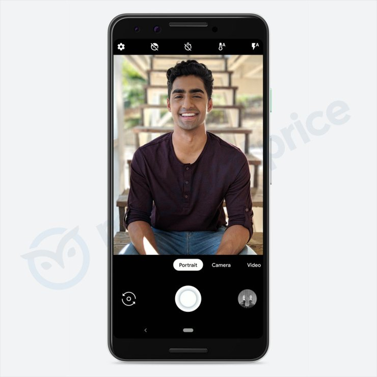 Another set of Google Pixel 3 (not XL) renders leaked 1