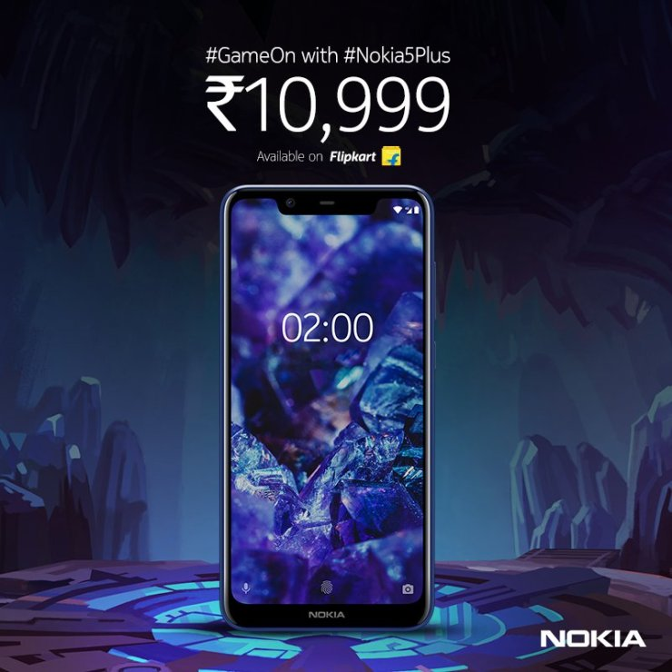 Nokia 5.1 Plus with Helio P60 launched in India at Rs 10,999 3