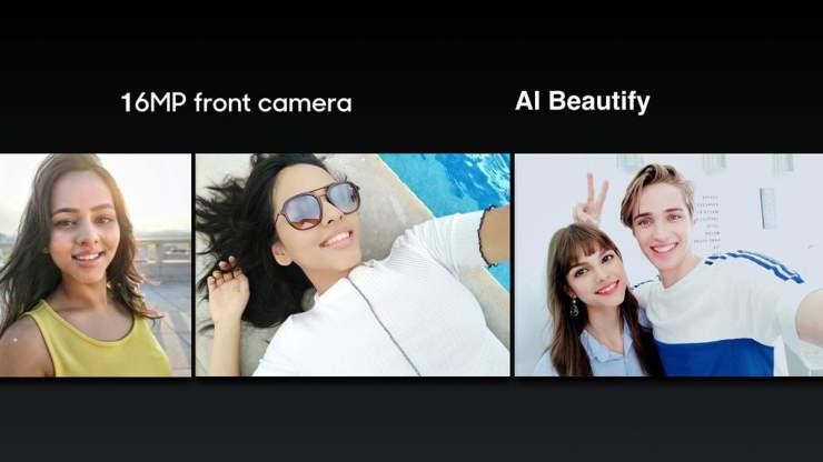 Realme 2 Pro front camera