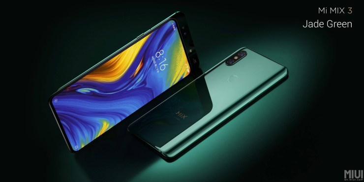 Xiaomi Mi Mix 3 launched with bezel-less design & up to 10GB RAM 4