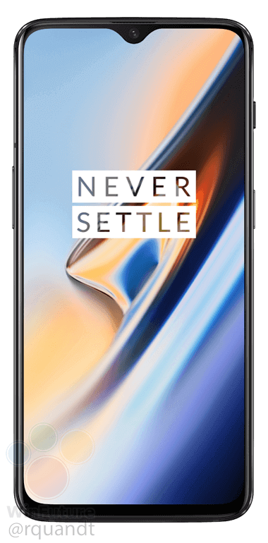 OnePlus 6T in Midnight Black (Front)
